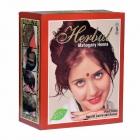 "Натуральная Хна для волос Махагони ""Mahogany"", 60 гр. Индия Herbul"