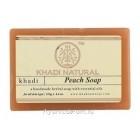 Аюрведическое мыло с Персиком 125 г. Кхади (Peach Soap Khadi)