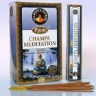 Благовония Ppure Meditation 15gr. (Нагчампа Медитация), Индия