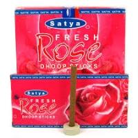 Благовония натуральные безосновные РОЗА Сатья (Rose Satya) 20 г Индия