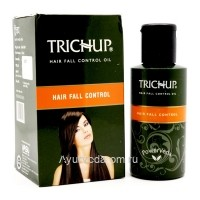 Масло от выпадения волос Тричуп (Trichup Oil Hair Fall Control), 100 мл. VASU Индия