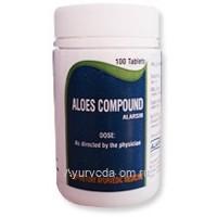 Алоэс Компаунд Аларсин, 100 таб., Aloes Compound Alarsin