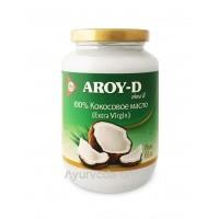 Кокосовое масло нерафинированное 450 мл. AROY-D (Extra Virgin)