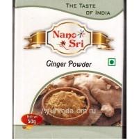 Имбирь Молотый 50 гр. Нано Сри (Nano Sri Ginger powder)