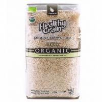 Органический тайский коричневый рис жасмин SAWAT-D 1 кг