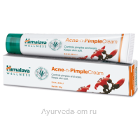 Крем для проблемной кожи Хималайа, 20 г Индия (Himalaya Acne-n-Pimple Cream)