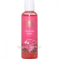 Гель для умывания лица Дамасская роза Без сульфатов 100 мл. (Damask Rose Face Wash SLS-free Indibird)