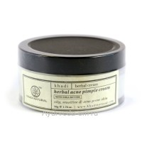 Крем для Лица против Акне  и чёрных точек (Herbal Acne Pimple Cream) 50г.  Khadi Natural