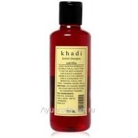 """Оздоровительный шампунь Кхади """"Сатритха"""", 210 мл (Khadi Herbal Satritha)"""