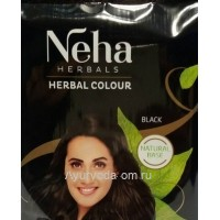 Хна для волос Neha Herbal Colour Black 20 гр.