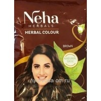 Хна для волос Neha Herbal Colour Brown 20 гр.