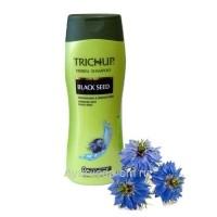 Шампунь Тричуп с экстрактами трав с маслом черного Тмина (TRICHUP Herbal Shampoo Black Seed) 200 мл. VASU Индия