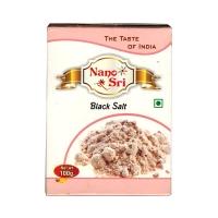Соль черная Индийская, 100 гр, Nano Sri