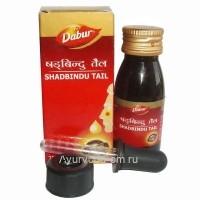 Шадбинду капли в нос, 25мл, Дабур (Shadbindu Tail  Dabur)