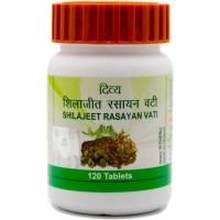 Шиладжит расаян вати (Shilajeet Rasayan Vati) Divya, 120 таб.