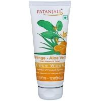 Гель для умывания Апельсин и Алое Вера Патанджали (Orange - Aloe Vera Face Wash Patanjali)