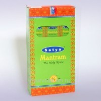 "Благовония (Premium Masala Base Incense ""Agarbatti"" Natural Fragrance) 30г. Mantram Satya"