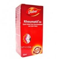 Лечебное масло для суставов Ревматил Rheumatil oil Dabur 50 мл.