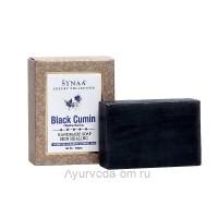 Мыло Черный Тмин LUXURY COLLECTION ручной работы,100 гр, Synaa