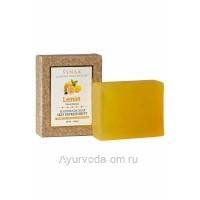 Мыло Лимон LUXURY COLLECTION ручной работы,100 гр, Synaa