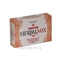 Аюрведическое мыло Сандал и Трифала для жирной кожи HerbalMix, Synaa