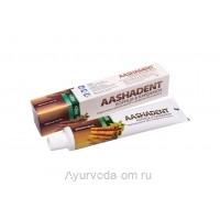 Зубная паста Аашадент (Корица и Кардамон), 100г. AASHADENT Aasha Herbals