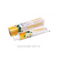 Натуральная зубная паста Ромашка-Мята 100 гр, AASHA