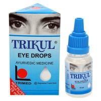 Капли для глаз Трикул (Trikul), 15 мл. Индия