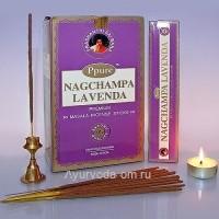 Благовония Ppure Lavender 15gm (Лаванда), Индия
