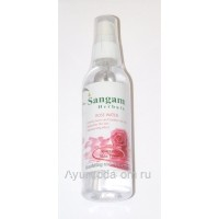 "Тонер ""Розовая вода"" (спрей), 100мл. Сангам Хербалс"