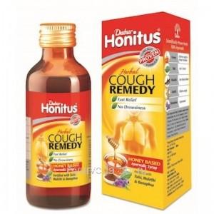 ХОНИТУС сироп от кашля, 100 мл, Дабур (Honitus Herbal Cough Remedy Dabur)