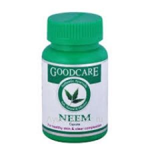 Ним 60 капсул Гуд Кэр (GoodCare Pharma Neem) Индия