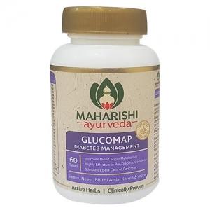 Глюкомап лечение сахарного диабета 60 таб. Махариши Аюрведа (Glucomap MAHARISHI AYURVEDA) Индия