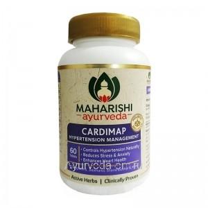 Кардимап препарат от гипертонии 60 таб. Махариши Аюрведа (CARDIMAP MAHARISHI AYURVEDA) Индия