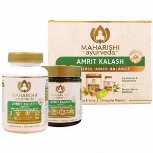 Амрит Калаш Махариши, (60 таб. + 600 гр. паста), Amrit Kalash Maharishi Ayurveda (Антиоксидант)