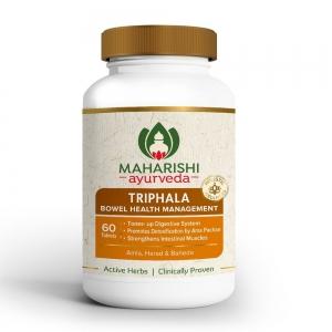 Трифала Махариши 60 таб. (Triphala Maharishi) Индия / 1 таблетка 1000 мг.