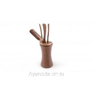 Инструменты для чайной церемонии (дерево.)