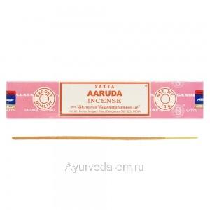 Благовония натуральные Ааруда Сатья (Aaruda Satya) 15 г. Индия