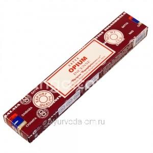 Благовония натуральные Опиум Сатья (Opium Satya) 15 г Индия