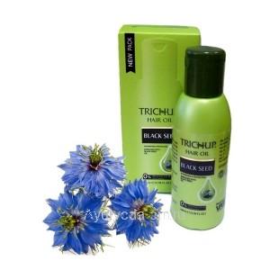 Масло для волос Тричуп с Черным тмином 100 мл. (TRICHUP Hair Oil Bllack seed) VASU Индия