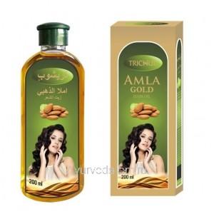 Масло для волос Амла Голд Тричуп (Trichup Amla Gold Hair oil) VASU Индия купить в Москве