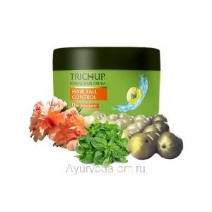 Крем для укладки и против выпадения волос Тричуп 200 мл. (Trichup Herbal Cream Hair Fall Control) VASU Индия