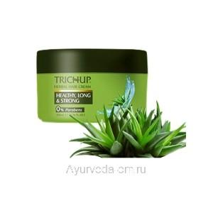 Крем для укладки волос Тричуп 200 мл. (Trichup Herbal Cream Healthy Long & Strong) VASU Индия