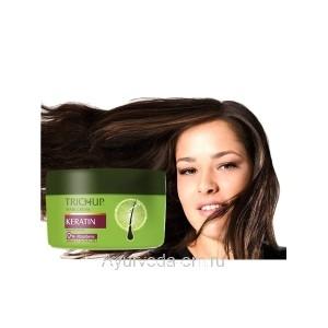 Крем для укладки волос Восстанавливающий с Кератином Тричуп 200 мл. (Trichup Cream Keratin Damage Repair) VASU Индия