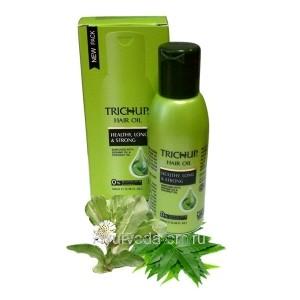 Масло для волос Тричуп Здоровье, Длина, Сила 100 мл. (TRICHUP Hair Oil Healthy, long, strong) VASU Индия