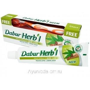 Зубная паста для укрепления дёсен Dabur Herb'l Neem 150