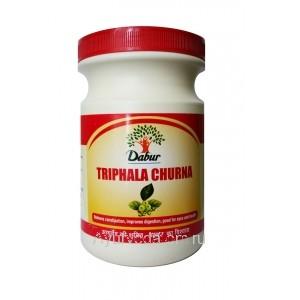 Трифала Чурна Дабур, 500 г. (Triphala Churna Dabur) Пищевая, в порошке, для очищения организма