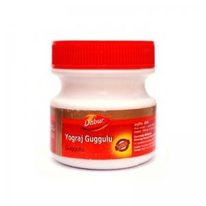 Йогарадж Гуггул Дабур, 120 таблеток  (Yograj Guggulu, Dabur) для опорно-двигательной системы