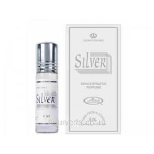 "Арабские масляные духи ""Silver"", 6мл. от Аль Рехаб (AL-REHAB)"