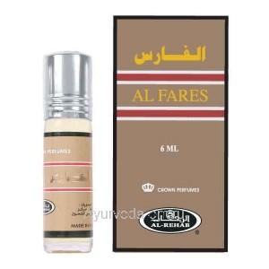 """Масляные духи """"Al Fares"""", 6мл. Al-Rehab (Арабские Эмираты)"""